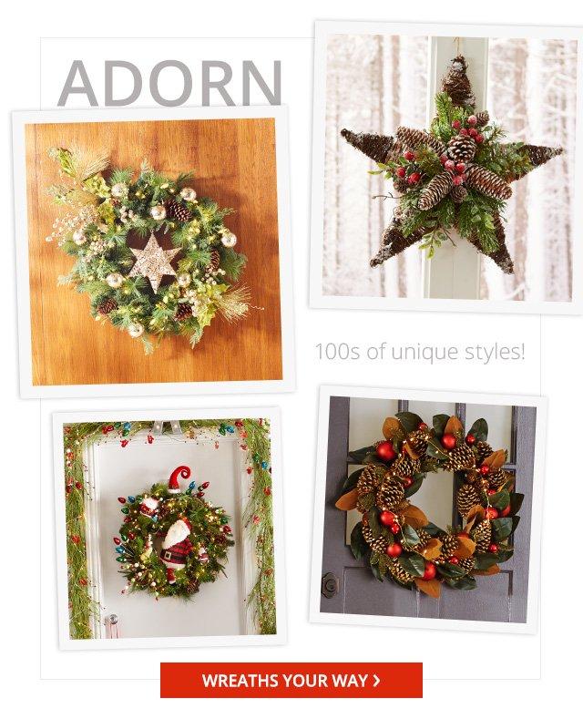 Adorn wreaths.