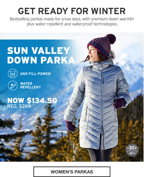 FRIENDS AND FAMILY EVENT 50% OFF | SHOP WOMEN'S PARKAS