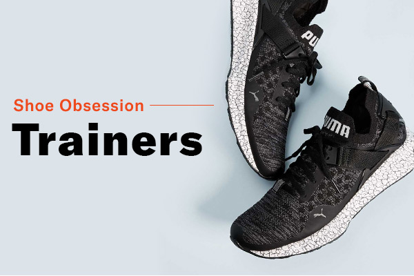 Shoe Obsession: Trainers 3 ways to wear the modern, athletic pairs.