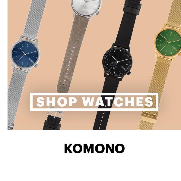 Tick, Tick, Tick: Shop Komono Watches
