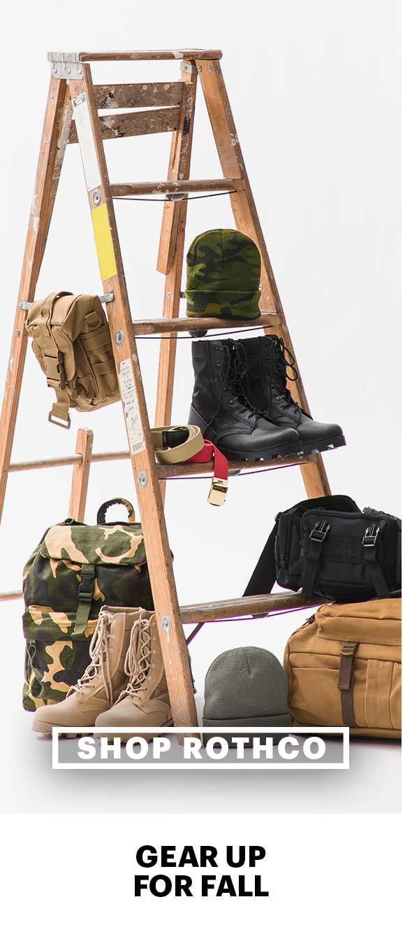 Gear Up For Fall With Rothco Beanies, Bags, Boots And More