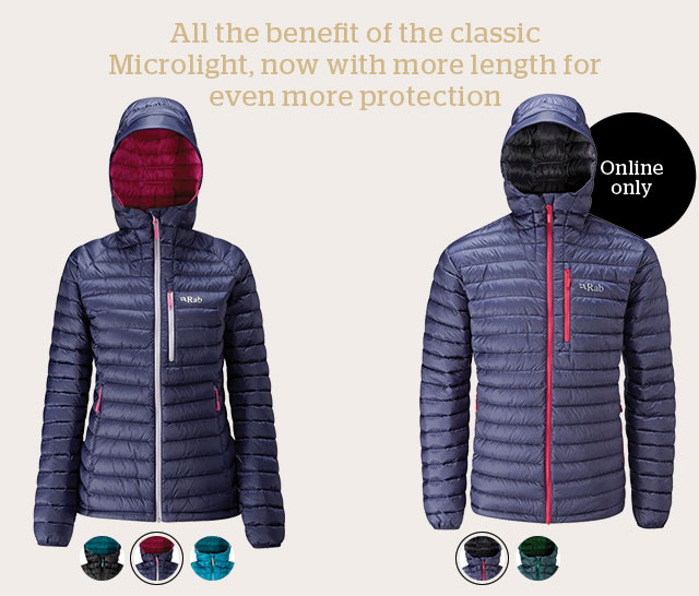 Rab Microlight Alpine Long Jacket
