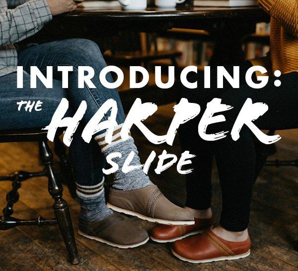chaco harper slides