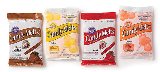 Wilton Candy Melts.