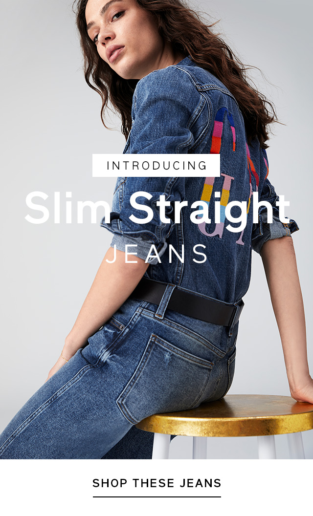 INTRODUCING | Slim Straight JEANS | SHOP THESE JEANS