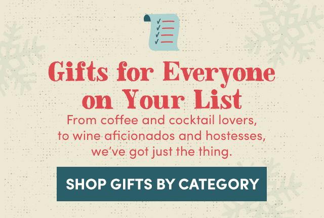 Gifts For Everyone On Your List. Shop Gifts By Category ›