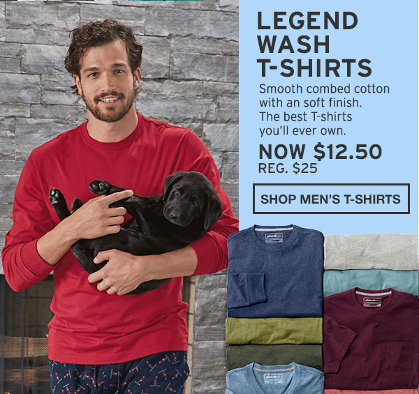 50% OFF LEGEND WASH T-SHIRTS | SHOP MEN'S T-SHIRTS