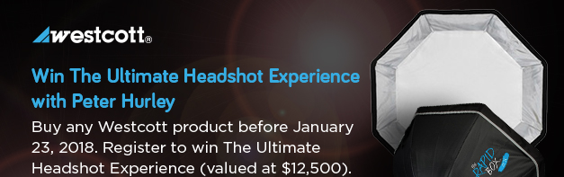 Westcott - Win the Ultimate Headshot Experience with Peter Hurley