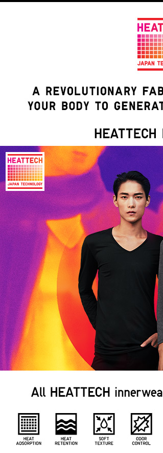 HEATTECH INNERWEAR - SHOP MEN