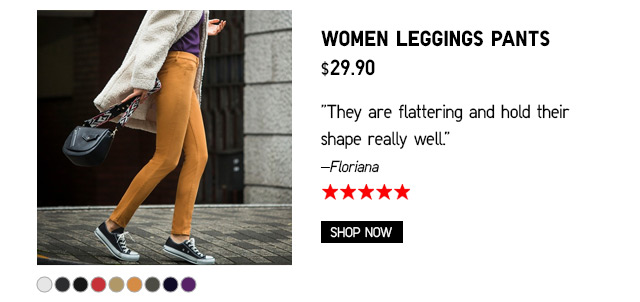 Women Legggins Pants $29.90 - Shop Now
