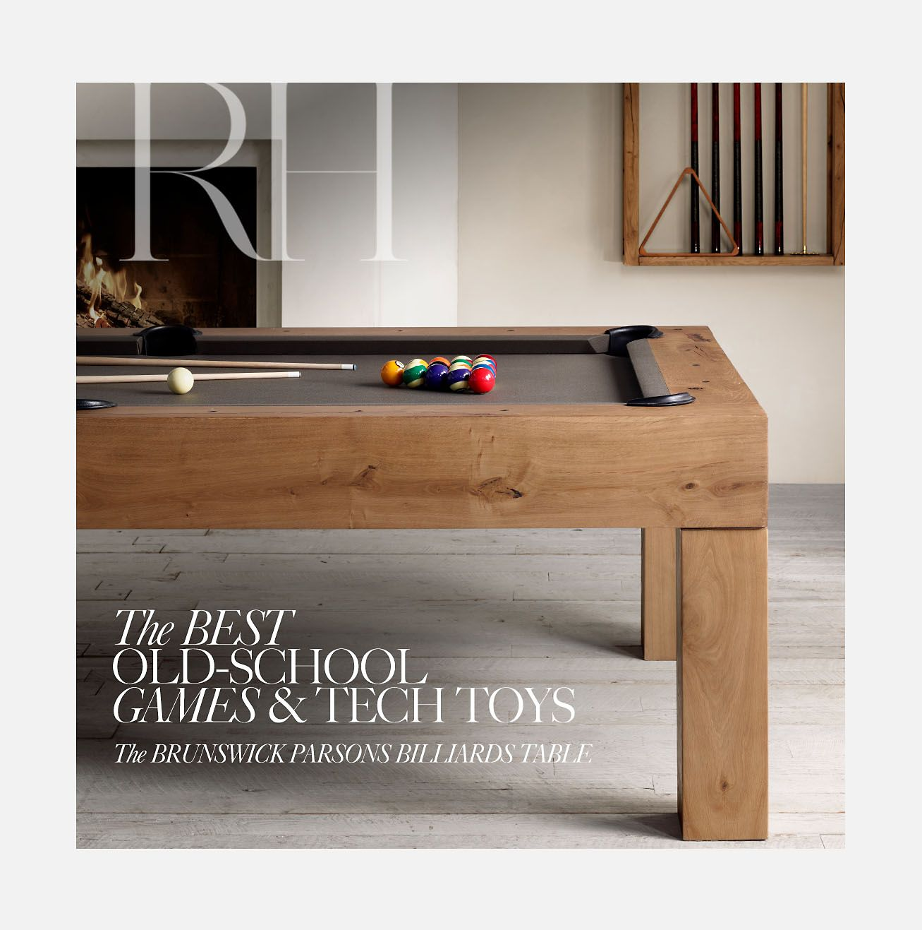 Restoration Hardware The Holiday Gift Collection Inspired Games - Restoration hardware pool table