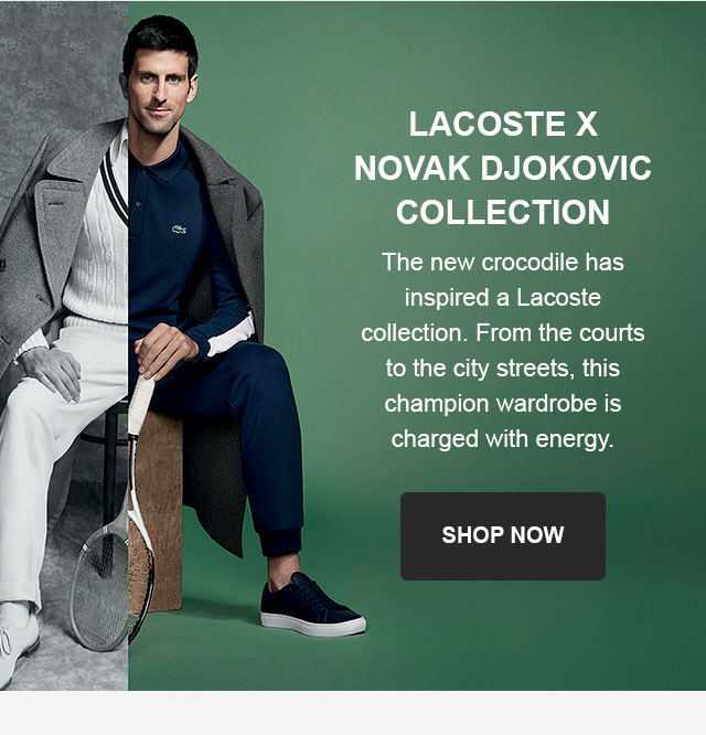 Lacoste The Novak Djokovic Collection Milled