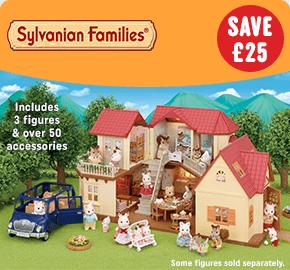 Sylvanian Families Beechwood Hall & Cosy Cottage Gift Set