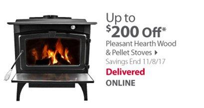 Pleasant stoves