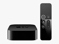 New 4th Gen Apple TV with Updated Siri Remote