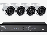 8-Channel 4K NVR with HDD & Outdoor Camera with Night Vision