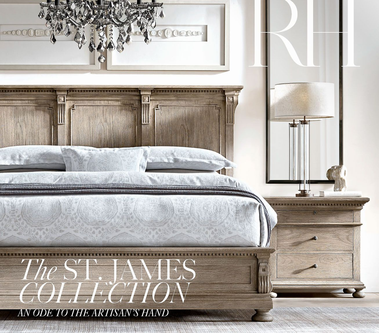 Restoration Hardware An Ode to the Artisan s Hand The St James