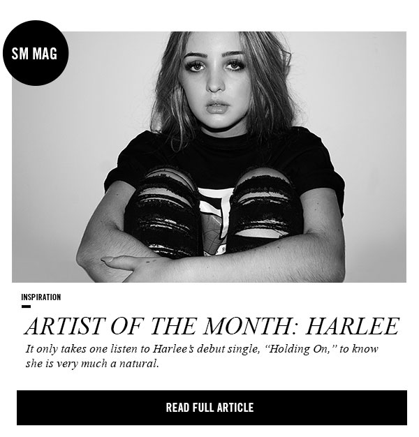SM MAG: Artist of the month. Read the full article