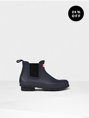 MEN'S ORIGINAL DARK SOLE CHELSEA BOOTS