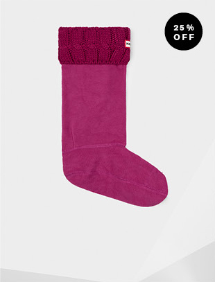 ORIGINAL SIX-STITCH CABLE BOOT SOCKS