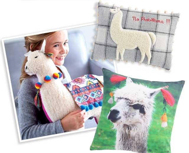 Llama Pillows ›