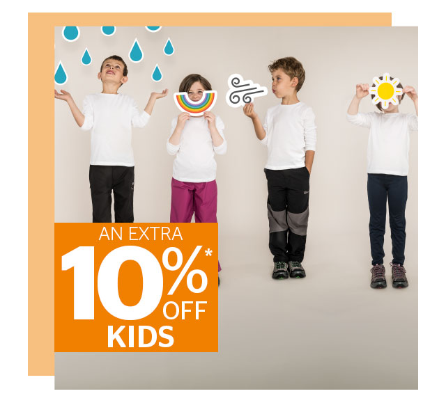 An Extra 10% Off Childrens
