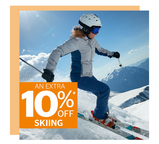 An Extra 10% Off Skiing