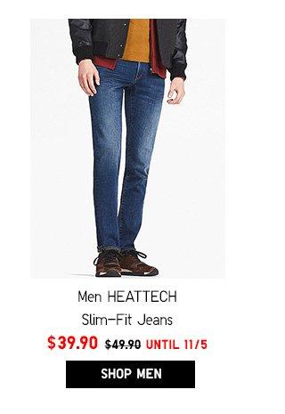 Men HEATTECH Jeans NOW $39.90- Shop Men