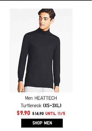 Men HEATTECH Turtleneck NOW $9.90- Shop Men