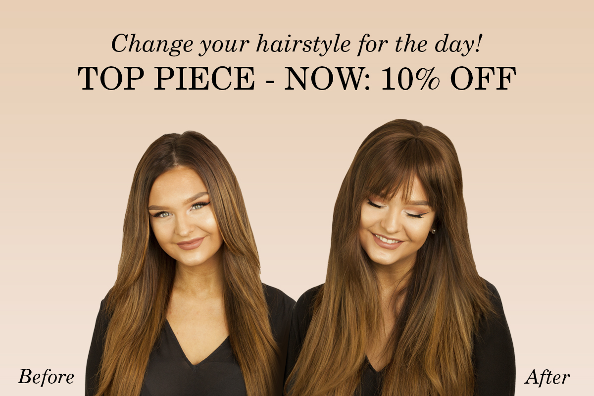 Rapunzel of Sweden: Change your hairstyle for the day! Top Piece ...