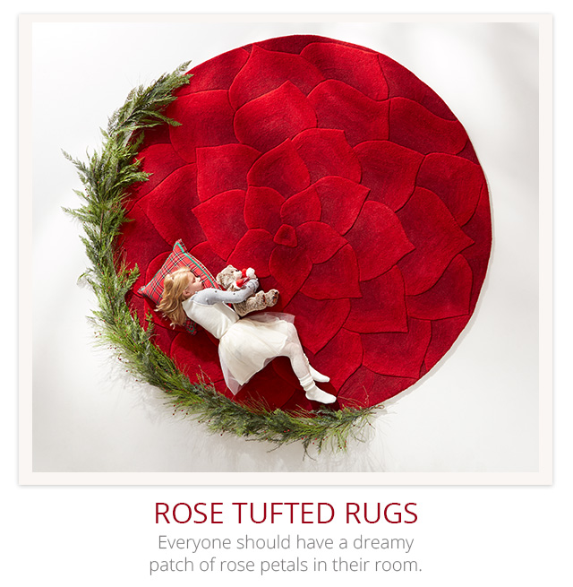Rose rugs.