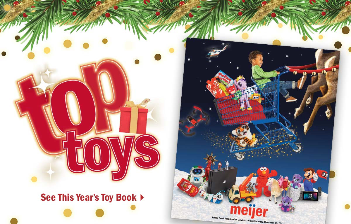 Meijer: They\'re here! NEW Toy Book & Electronics Gift Guide! | Milled