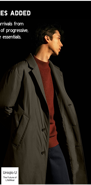 UNIQLO U - New Styles Added - SHOP MENS
