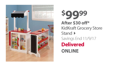 KidKraft Grocery Store Stand