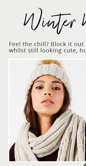 Lipsy Heritage hat