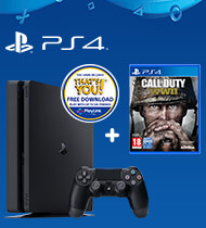 PS4 500GB Call Of Duty: WWII Bundle + That's You Voucher