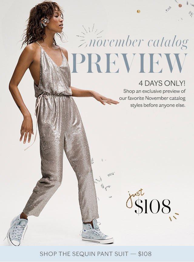 Shop the Sequin Pant Suit