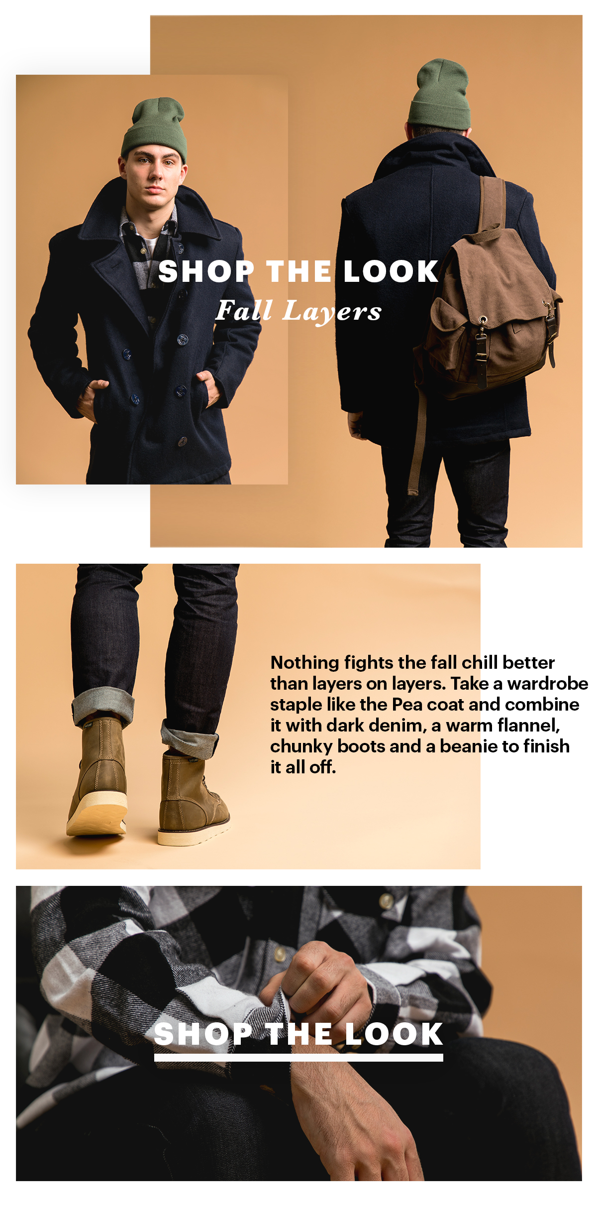 Shop The Look; Fall Layers