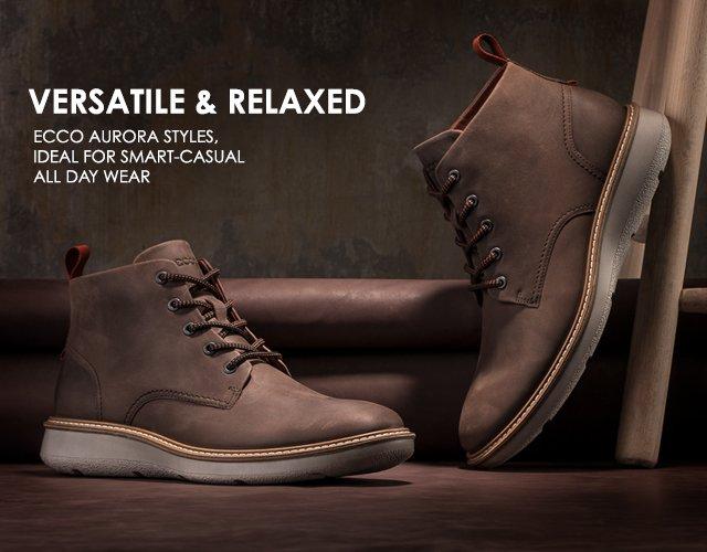 monia muodikkaita tehtaanmyymälä ostaa hyvää ECCO USA SHOES: Versatile Men's Styles- Relaxed and Casual ...