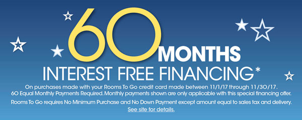 Rooms To Go Interest Free Financing - The Best Interest 2018