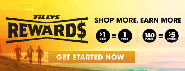 Introducing Tillys Rewards - Get Started Now