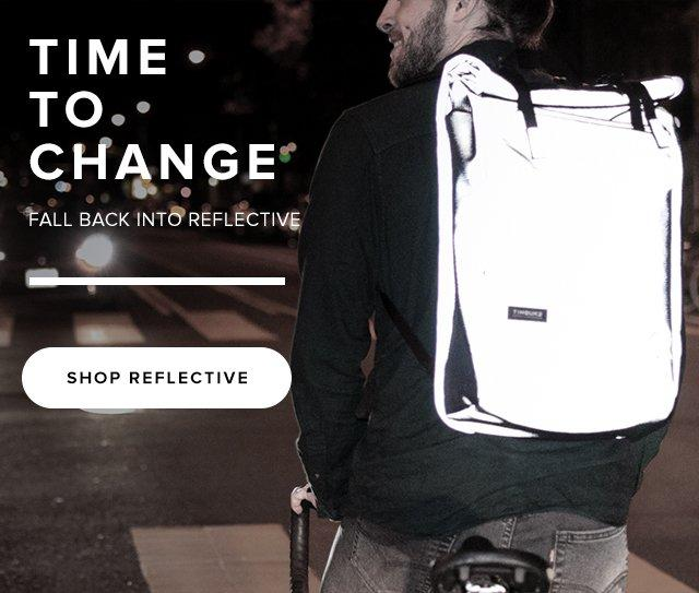 Time to change – Fallback into Reflective | Shop Reflective