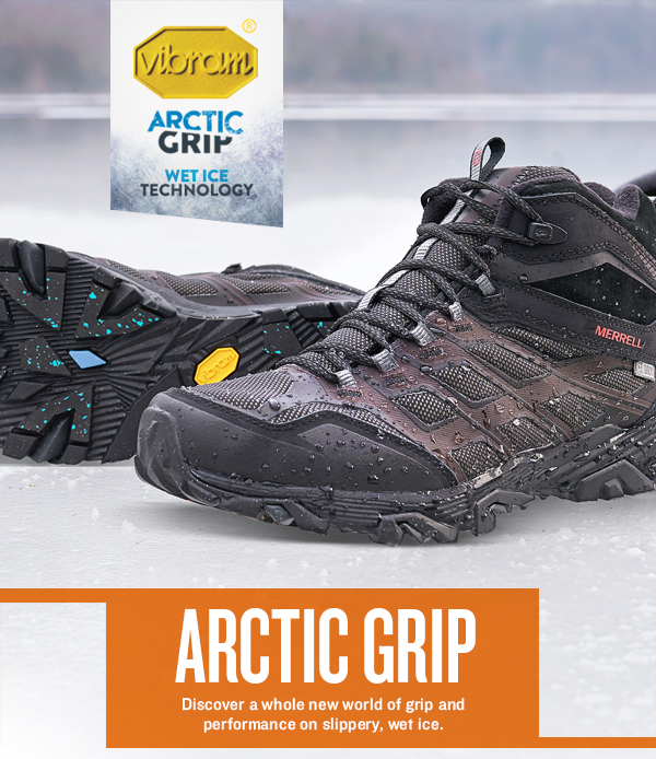 beautiful style great deals nice shoes MERRELL: Stick it to Winter: Vibram® Arctic Grip is Back ...