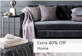 Extra 40% Off Home