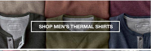 SHOP MEN'S THERMAL SHIRTS