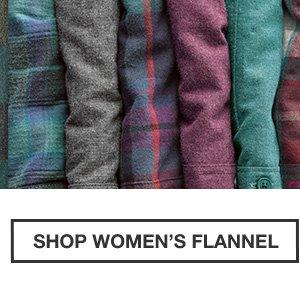 40% OFF FLANNEL | SHOP WOMEN'S FLANNEL