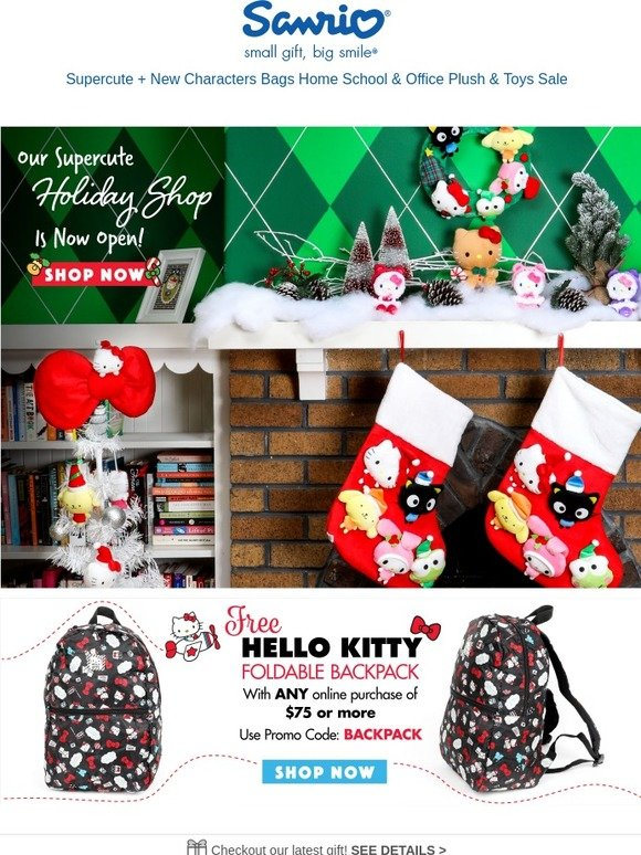 Hello Kitty  Gift Giving Season Is Here  bff45a068eec1