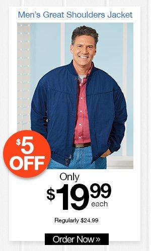 Men's Great Shoulders Jacket