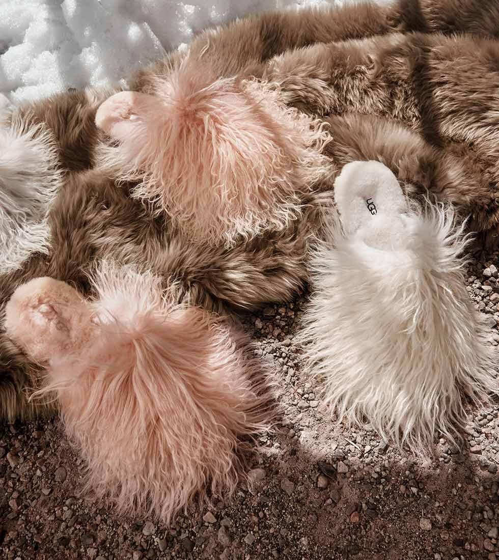 UGG Fluff Momma Mongolian Clog I076D02O2S