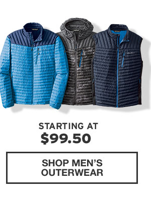 50% OFF MICROTHERM STORMDOWN | SHOP MEN'S OUTERWEAR